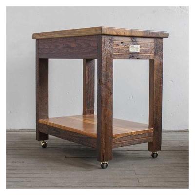 Laurel Mercantile Kitchen Cart
