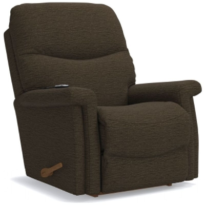 Lazboy Rocking Recliner with Massage and Heat