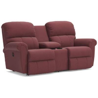 Lazboy Reclining Loveseat with Console