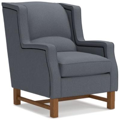 Lazboy Chair with Platinum Nail Head Trim