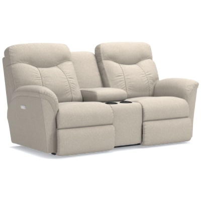 Lazboy Power Reclining Loveseat with Console