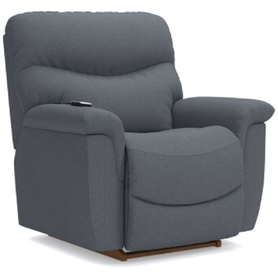 Lazboy Power Rocking Recliner with Massage and Heat