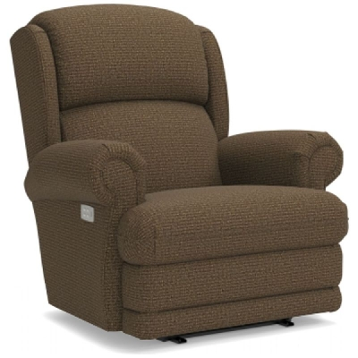 Lazboy Power Wall Recliner with Brass Nail Head Trim