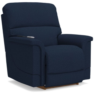 Lazboy Power Rocking Recliner with Head Rest and Lumbar