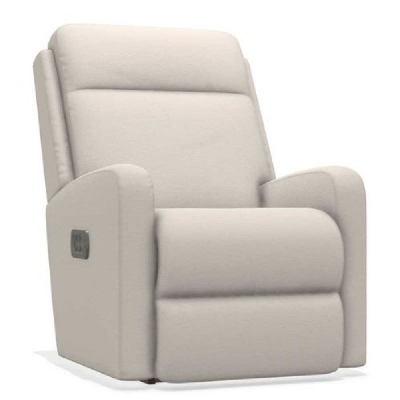 Lazboy Power Rocking Recliner with Headrest and Lumber