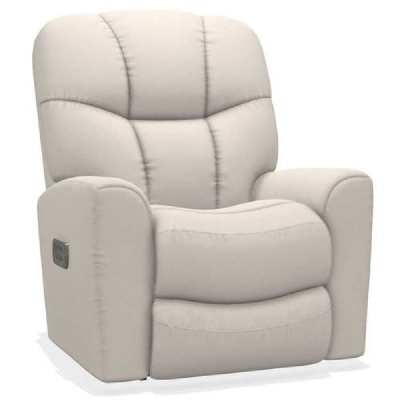 Lazboy Power Rocking Recliner with Headrest and Lumbar