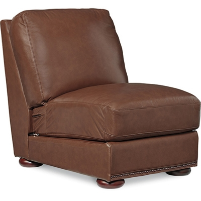 Lazboy Armless Middle with Brass Nail Head Trim
