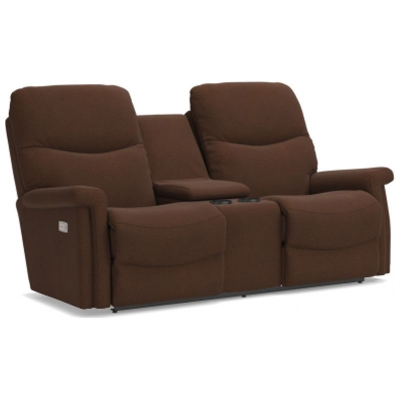 Lazboy PowerReclineXRw Full Reclining Loveseat with Console