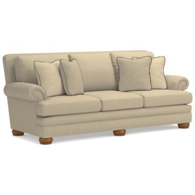 Lazboy Premier Sofa with Brass Nail Head Trim