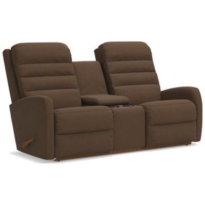 Lazboy Reclina Way Full Reclining Loveseat with Console
