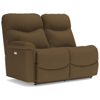 Lazboy Power La Z Time Right Arm Sitting Reclining Loveseat