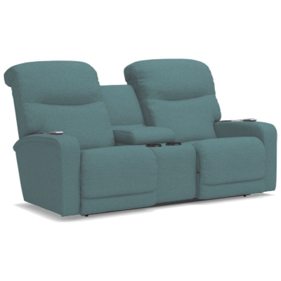 Lazboy Power ReclineXRw and Full Reclining Loveseat with Console