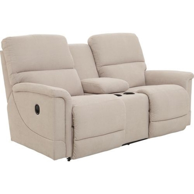 Lazboy La Z Time Full Reclining Loveseat with Middle Console