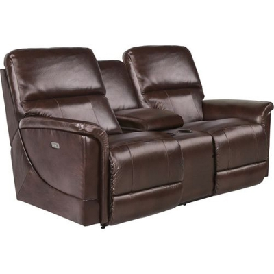 Lazboy PowerRecline La Z Time Full Reclining Loveseat with Middle Console