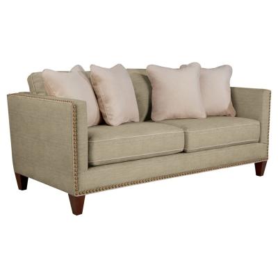 La Z Boy 645 Kinsley Premier Stationary Sofa Discount Furniture At Hickory Park Furniture Galleries