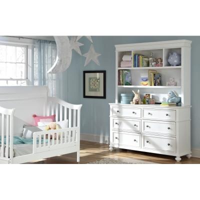 Legacy Classic Kids Nursery Bookcase Hutch with Dresser