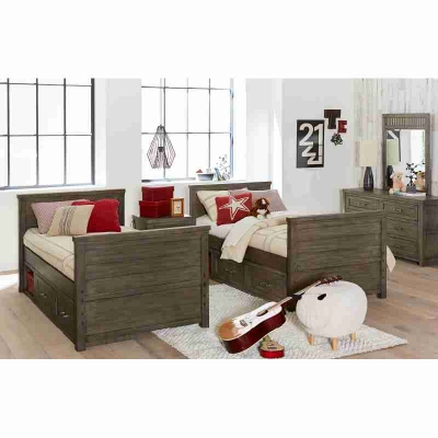 Legacy Classic Kids Twin over Twin Bunk Bed