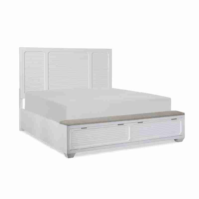 Legacy Classic Panel Bed with Storage Footboard California King