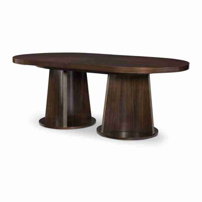 Legacy Classic Oval Double Pedestal Table