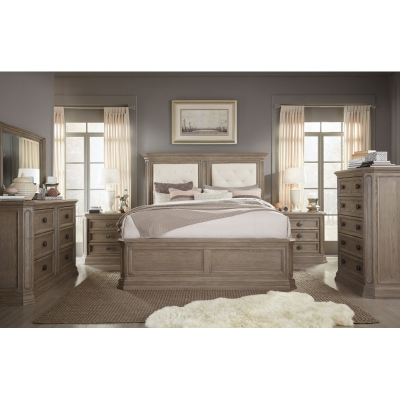 Legacy Classic Upholstered Mansion Bed King