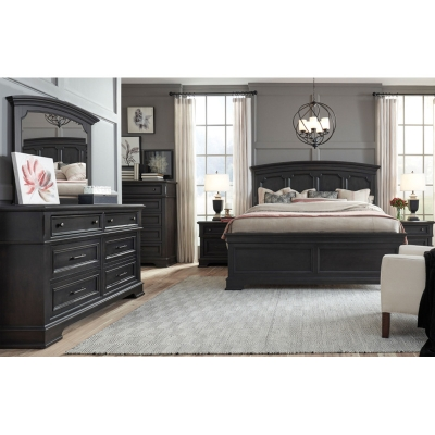 Legacy Classic Arched Panel Bed King
