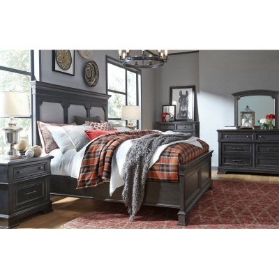 Legacy Classic Upholstered Panel Bed King