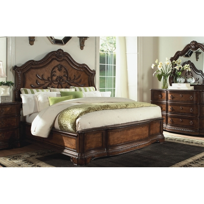 Legacy Classic 3100 4105k Pemberleigh Panel Bed Queen Discount Furniture At Hickory Park