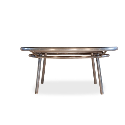 Lloyd Flanders 174041 Fusion Round Conversation Table With Lay On Glass Discount Furniture At