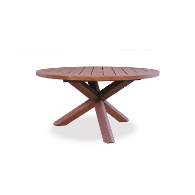 Lloyd Flanders Round Cross-Base Conversation Table