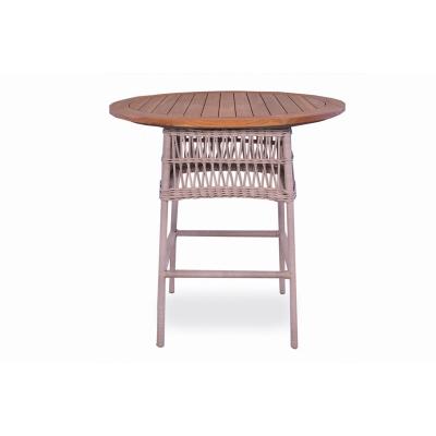Lloyd Flanders Round Bar Table