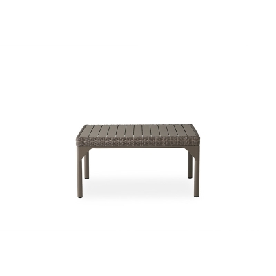 Lloyd Flanders 36 inch Square Cocktail Table