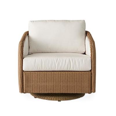 Lloyd Flanders Swivel Glider Lounge Chair