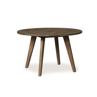 Lloyd Flanders 48 inch Round Umbrella Table