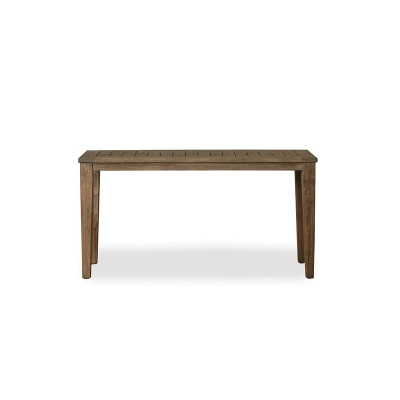 Lloyd Flanders 58 inch Rectangular Tapered Leg Console Table