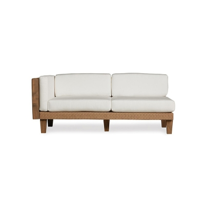 Lloyd Flanders Right Arm Settee