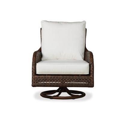 Lloyd Flanders Swivel Rocker Lounge Chair
