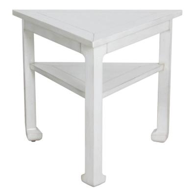 Lorts Triangular Lamp Table