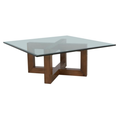 Lorts Beveled Glass Cocktail Tabletop
