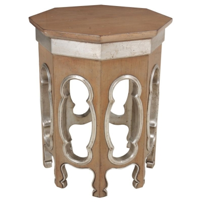 Lorts Octagonal Side Table
