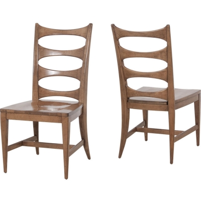 Lorts Side Chair with Wood Seat