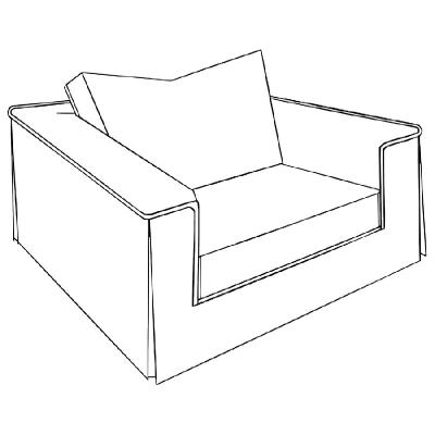 Marge Carson Milan Chair