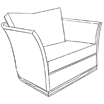 Marge Carson Paris Chair