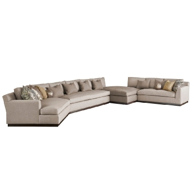 Marge Carson Rome Sectional
