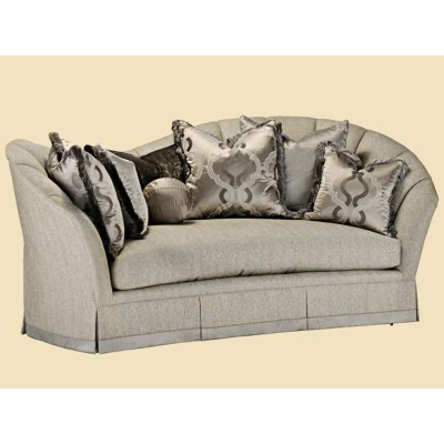 Marge Carson Adl43 Mc Sofa Adele Sofa Discount Furniture At Hickory Park Furniture Galleries