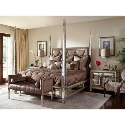 Marge Carson Rs1154 Bossa Nova Bedroom Discount Furniture At Hickory Park Furniture Galleries