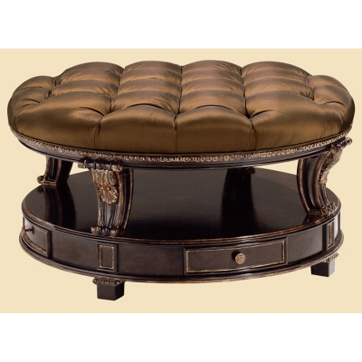 Marge Carson Palladian Cocktail Ottoman
