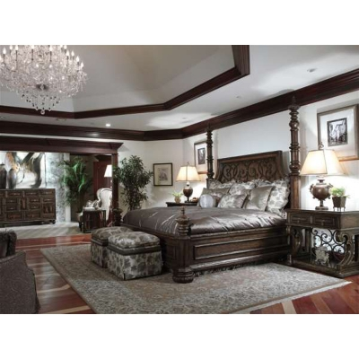 Marge Carson Rs1088 Seville Bedroom Discount Furniture At Hickory Park Furniture Galleries