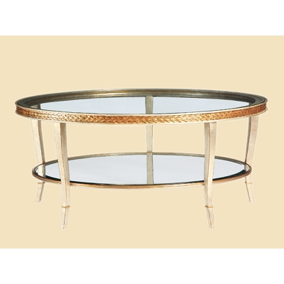 Marge Carson Round Cocktail Table
