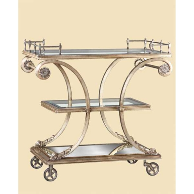 Marge Carson Serving Cart