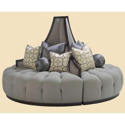 Marge Carson Round Sofa